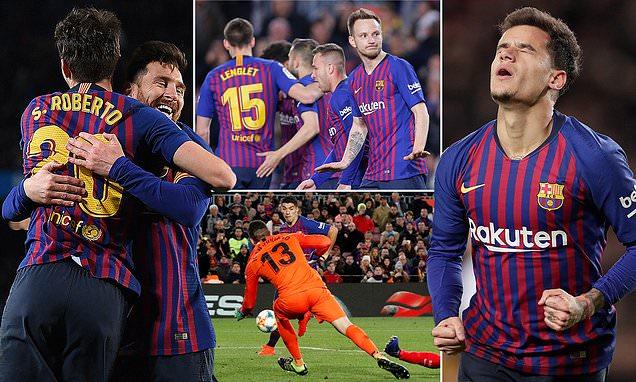 Kết quả Barcelona vs Sevilla: Messi thăng hoa tuyệt đỉnh và đại tiệc 7 bàn thắng