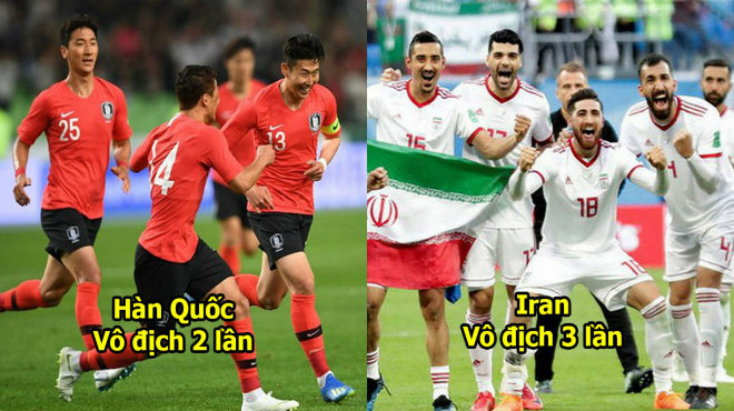 Top 8 đội thành công nhất trong lịch sử Asian Cup: Cứ tưởng Iran mạnh nhất rồi ai ngờ còn có ngọn núi cao hơn