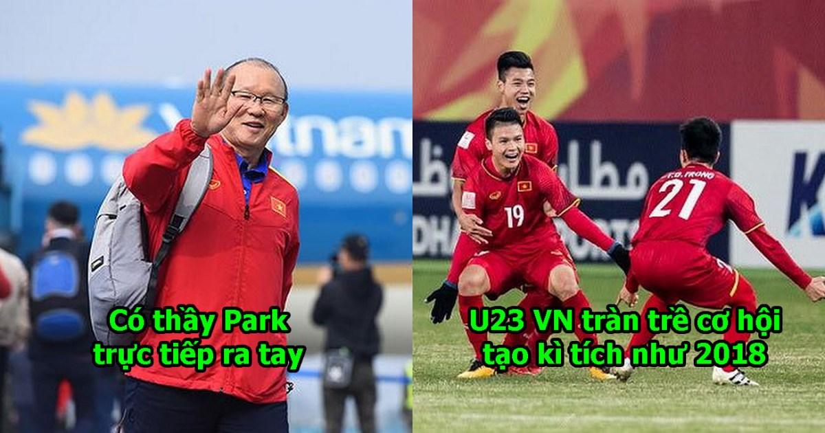 Rút ngắn kì nghỉ Tết ở quê nhà, thầy Park đích thân sang Campuchia làm điều cực ý nghĩa cho U23 Việt Nam