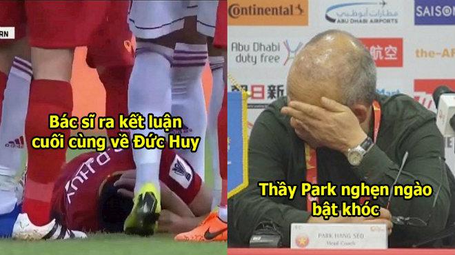 Bác sĩ thông báo kết luận cuối cùng về bệnh tình của Đức Huy, thầy Park nghe xong mà thương em phát khóc