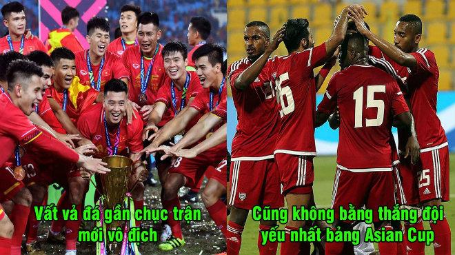 FIFA công bố công thức tính điểm mới, vất vả vô địch AFF Cup cũng không bằng thắng 1 trận Asian Cup