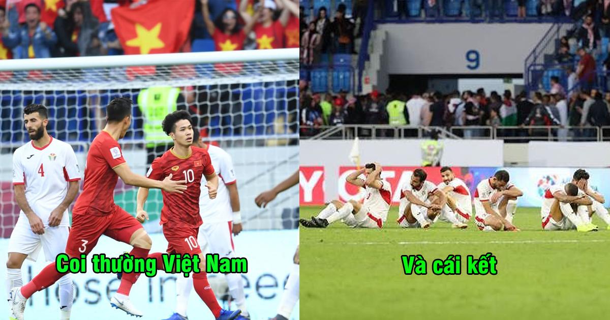 """CĐV Jordan: """"Cầu thủ chúng ta đã quá coi thường Việt Nam, không xứng đáng chiến thắng trước họ"""""""