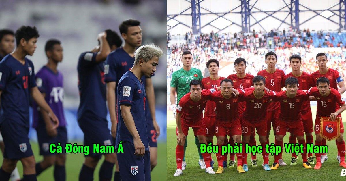 """Báo Mỹ: """"Tất cả các đội bóng Đông Nam Á phải học tập Việt Nam ngay lập tức"""""""