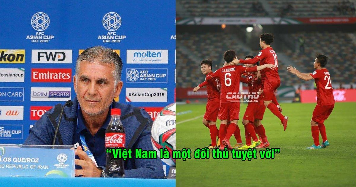 """HLV Iran phát biểu: """"Đừng tưởng có thể dễ dàng bắt nạt đội bóng nhiều tham vọng như Việt Nam"""""""