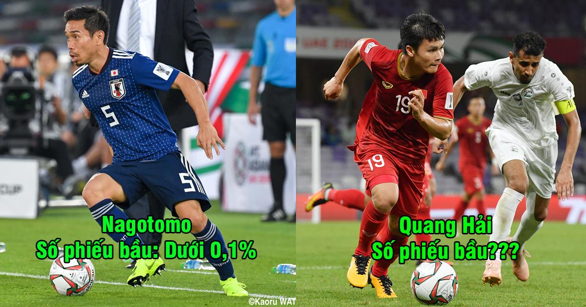 Bầu chọn cầu thủ xuất sắc nhất vòng bảng Asian Cup: Sao Việt Nam vượt xa cả siêu sao của Iran, Nhật Bản