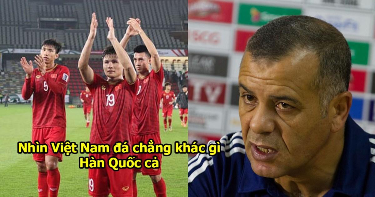 """Báo Jordan: """"Cầu thủ Việt Nam ăn gì mà chạy nhanh như gió vậy; họ đá hay chẳng kém gì Hàn Quốc, Nhật Bản cả"""""""