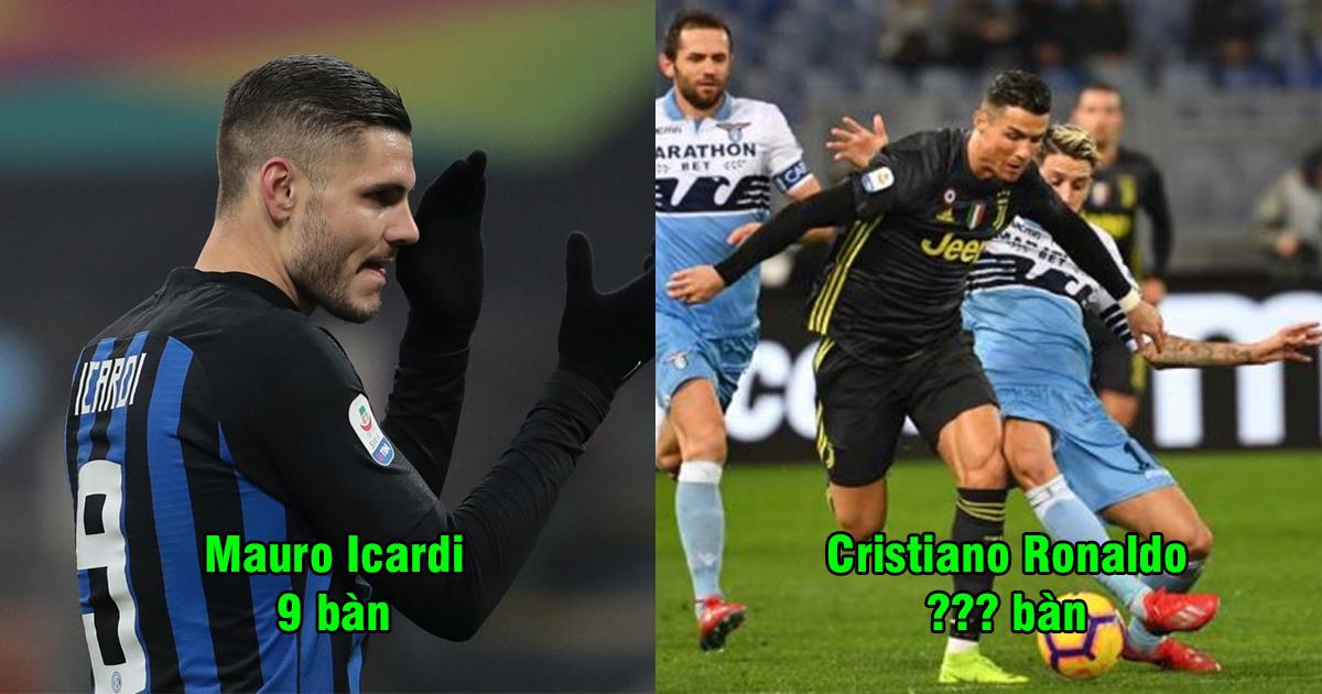Cập nhật cuộc đua Vua phá lưới Serie A 2018/19: Ghi bàn giải cứu Juventus, Ronaldo sắp sửa soán ngôi đầu