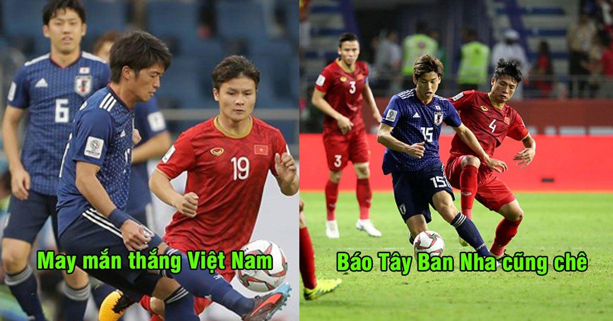"""Báo Tây Ban Nha: """"Chiến thắng của Nhật Bản trước Việt Nam không hề thuyết phục"""""""