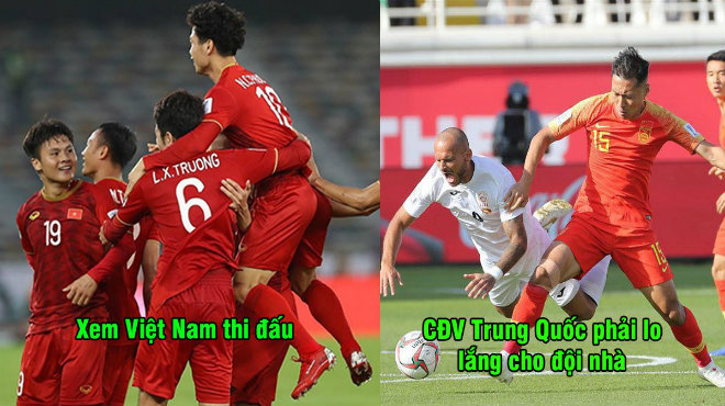 """CĐV Trung Quốc: """"Việt Nam đỉnh thế, tiến bộ từng ngày, chúng ta gặp cũng thua mất thôi"""""""