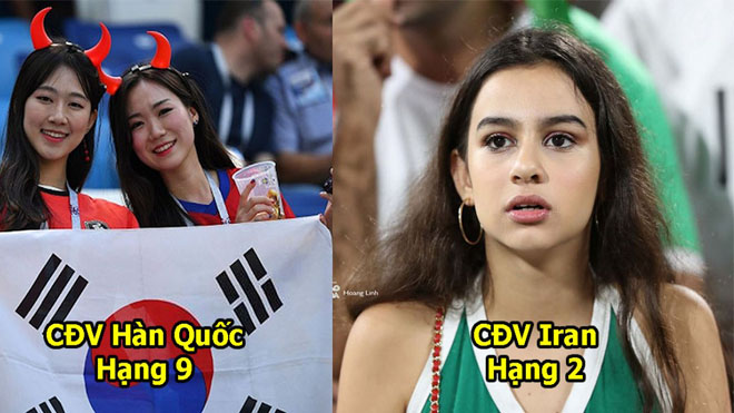 Fangirl 24 nước châu Á đọ nhan sắc trên khán đài: Tan chảy trước vẻ đẹp như thiên thần của CĐV Việt Nam