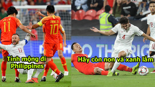 Mơ mộng đại náo ASIAN Cup, Philippines bị Trung Quốc vùi dập không thương tiếc, hi vọng đặt cả vào ĐTVN rồi