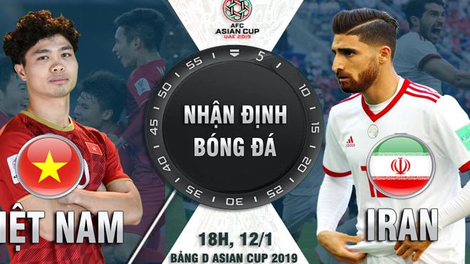 """Asian Cup 2019, ĐT Việt Nam – ĐT Iran: Mơ tạo """"địa chấn"""" ở thế chân tường"""