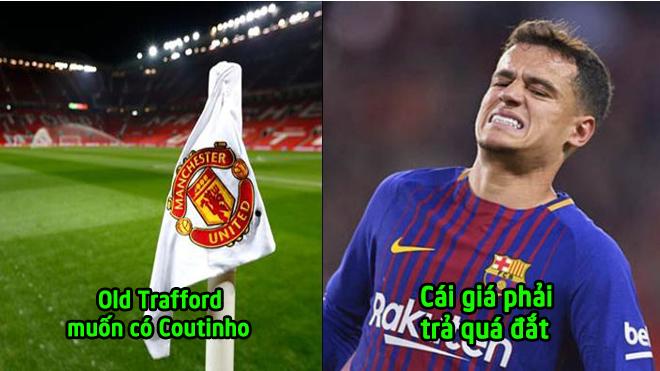"""Nóng! Barca có thể bán Coutinho cho Man Utd với 1 điều kiện """"khủ.ng khi.ếp"""""""
