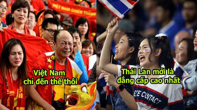 """Mới qua được vòng bảng, CĐV Thái đã gáy to: """"Xin lỗi Việt Nam, bọn tôi lại leo lên đầu Đông Nam Á rồi"""""""