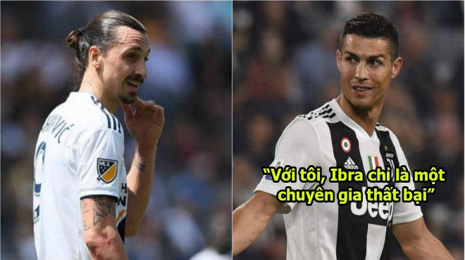Cay cú vì bị xỉa xói, Ronaldo lên tiếng đáp trả cực kỳ thông minh khiến Ibra im thin thít