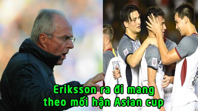 """Ôm hận Asian Cup 2019, """"siêu HLV"""" Eriksson CHÍNH THỨC bị LĐBĐ Philippines sa thải trong ấm ức"""