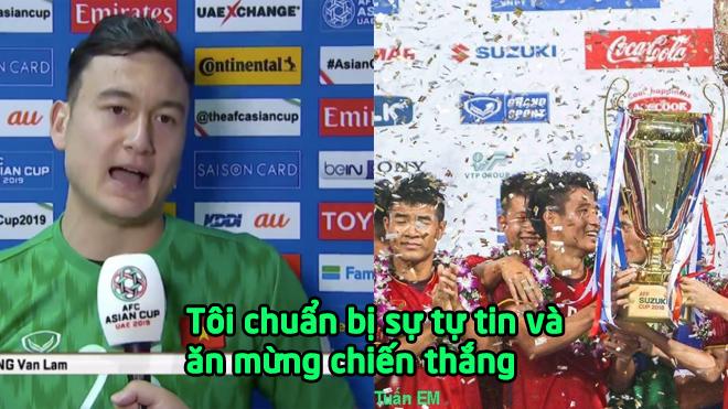 """Người hùng Đặng Văn Lâm: """"Tôi đã chuẩn bị rất kỹ lưỡng, tôi tự tin và chúng ta đã giành chiến thắng"""""""