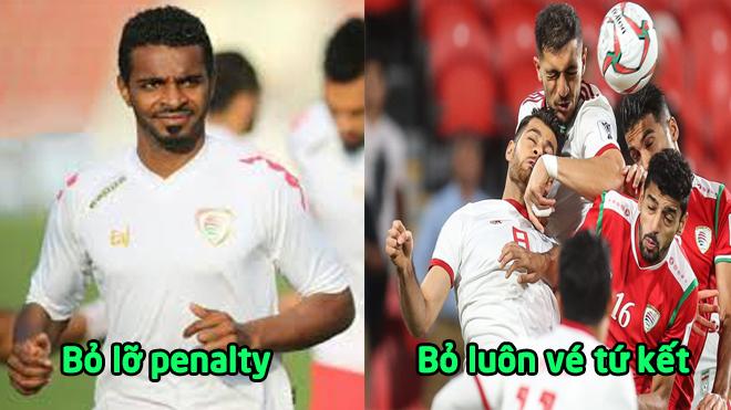 Asian Cup, Iran – Oman: Bỏ lỡ penalty, mất ngay vé vàng tứ kết