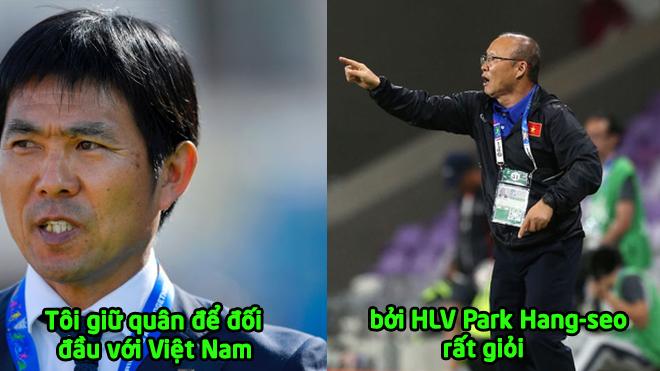 """HLV Nhật Bản: """"Tôi giữ quân để đối đầu với Việt Nam, bởi tôi biết HLV Park Hang-seo rất giỏi"""""""
