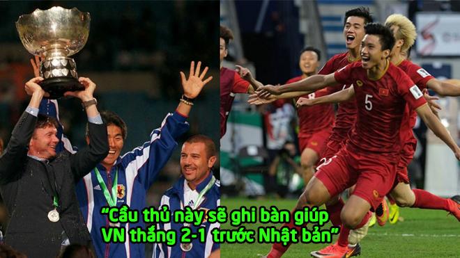 """Cựu HLV Nhật Bản dự đoán Số.c: """"Cầu thủ này sẽ ghi bàn giúp Việt Nam thắng 2-1 trước Nhật bản"""""""