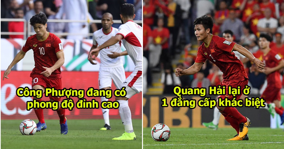 """Báo Nhật: """"Công Phượng rất xuất sắc nhưng Quang Hải mới là thiên tài của ĐT Việt Nam"""""""