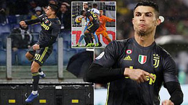 Kết quả Lazio – Juventus: Ngược dòng thần kỳ, Ronaldo định đoạt penalty