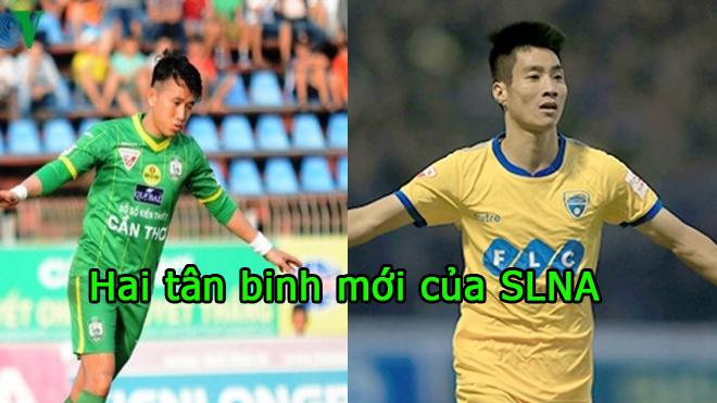 CHUYỂN NHƯỢNG V-League 04/1: Văn Bình – Quang Tình tái hợp với SLNA