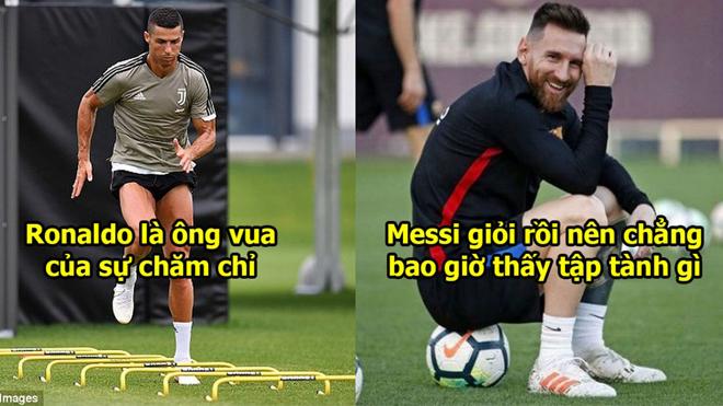 """Carlos Tevez: """"Tôi chả bao giờ thấy Messi tập luyện gì, còn Ronaldo lúc nào cũng đến sớm nhất đội"""""""