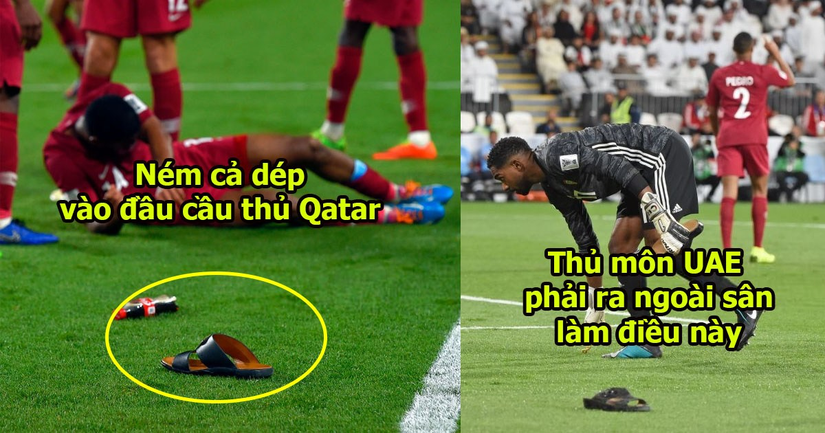 CHÙM ẢNH: Chơi bẩn không cho CĐV Qatar vào sân, chủ nhà UAE còn để lại hình ảnh vô học thế này đây