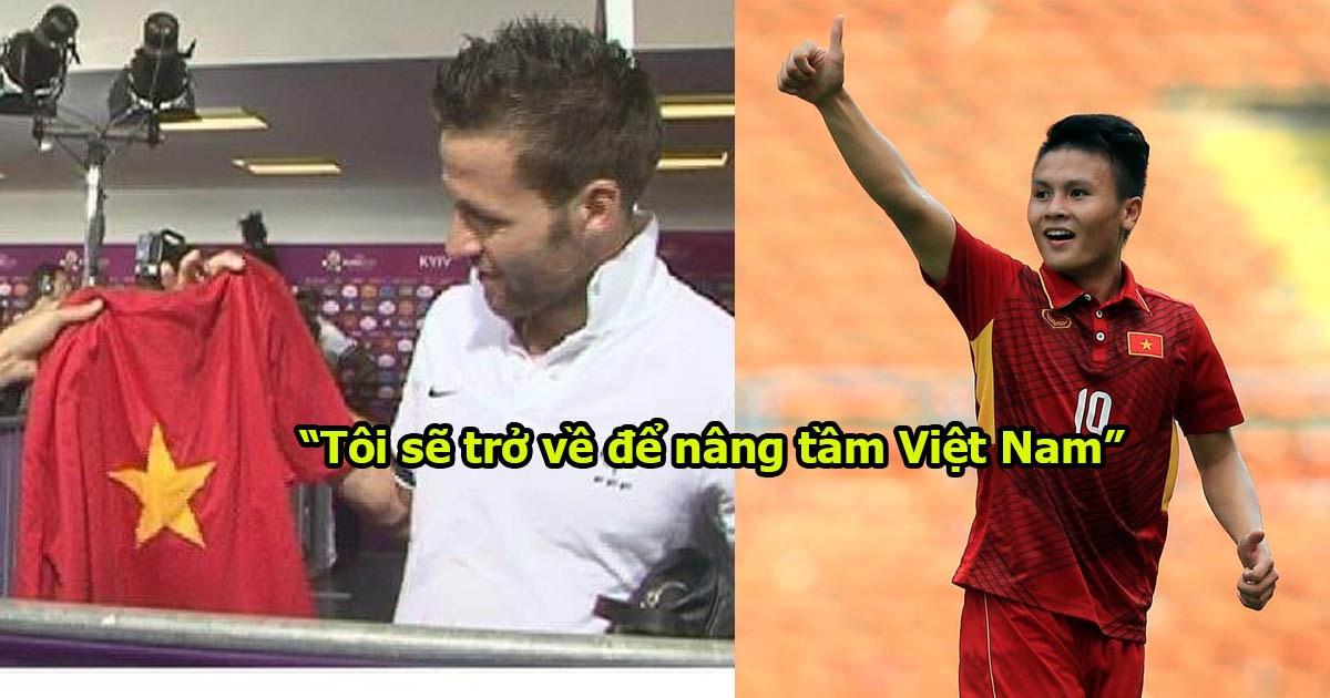 """Yohan Cabaye tuyên bố: """"Tôi chắc chắn sẽ trở về Việt Nam. Tôi muốn phát triển nâng tầm bóng đá Việt Nam"""""""