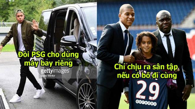 Báo Pháp vạch mặt thói hư tật xấu của Mbappe: Đòi máy bay riêng, lương khủng hơn Messi, bố được tập cùng con trai
