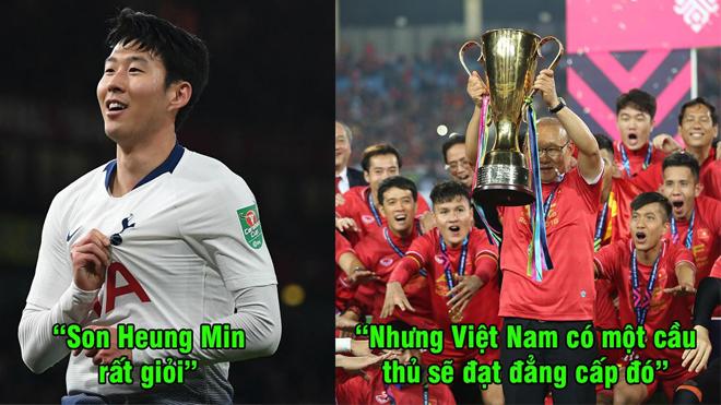 """Báo Trung Quốc: """"Việt Nam có một cầu thủ sẽ sớm đạt đến đẳng cấp của Son Heung Min"""""""