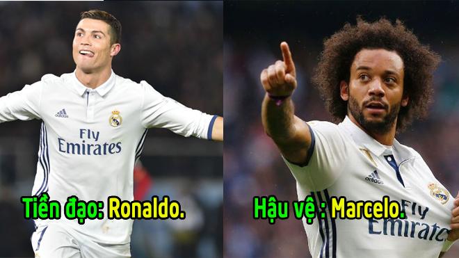 Ronaldo đích thân chọn ra đội hình trong mơ mạnh nhất hành tinh: Kình đị.ch lớn nhất của anh cũng có mặt