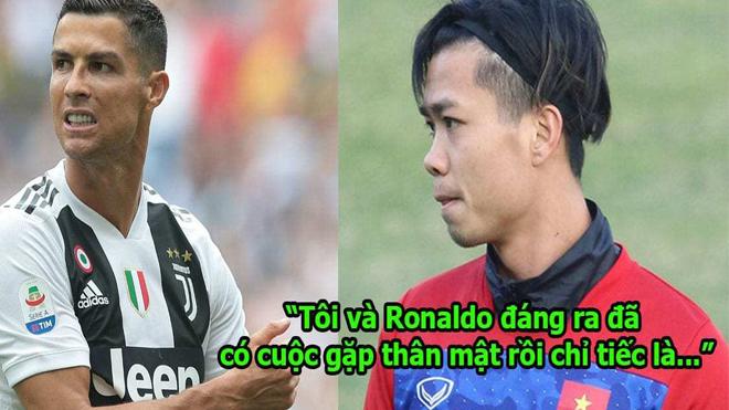 Được mời sang gặp Ronaldo, Công Phượng kiên quyết từ chối vì lý do này, ai nghe cũng nể phục