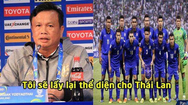 Tin nóng Asian Cup 10/1: Tân HLV Thái Lan quyết lấy lại thể diện