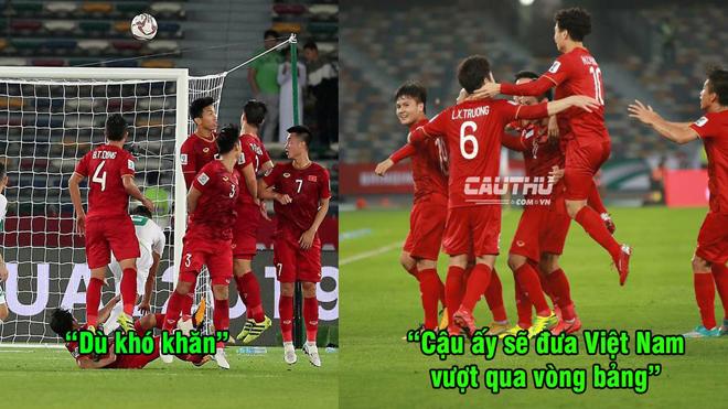 """Báo châu Á: """"Việt Nam có một cầu thủ đẳng cấp, anh ta sẽ đưa họ vượt qua vòng bảng"""""""