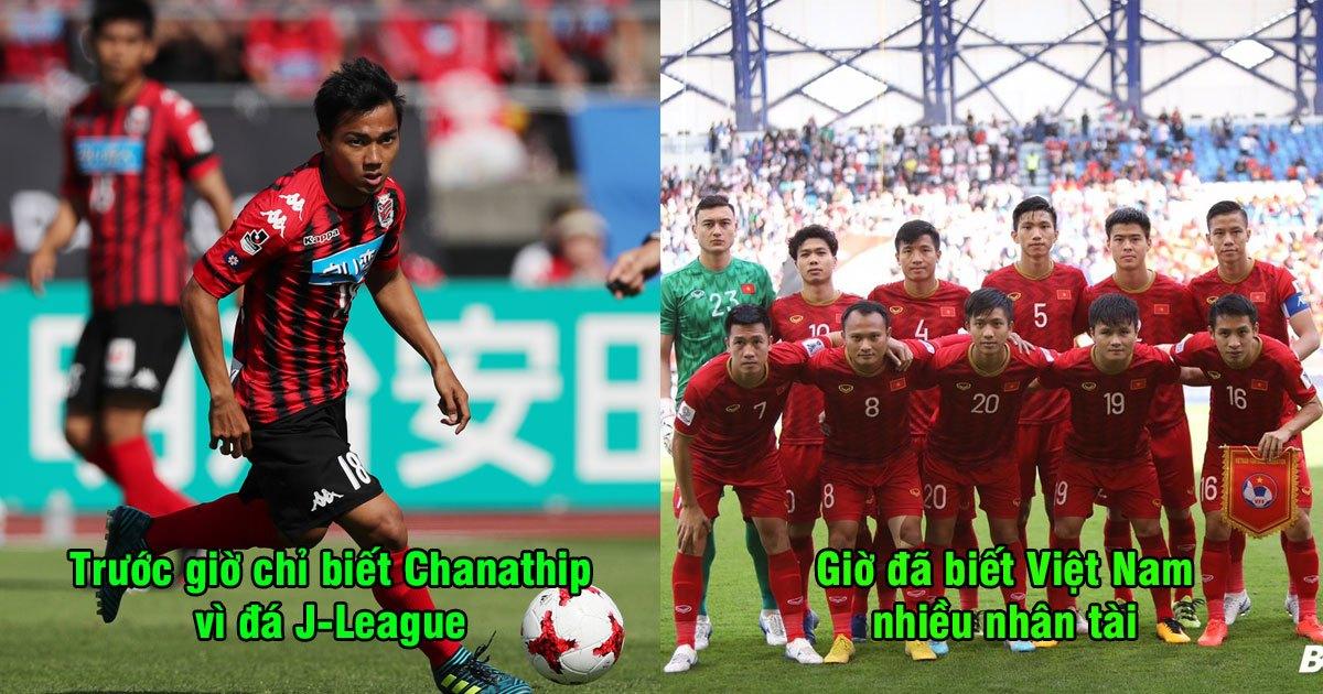 """Báo Nhật Bản: """"Trước giờ chúng ta nghĩ ĐNÁ chỉ có Chanathip, nhưng Việt Nam có đến 4 cầu thủ cực xuất chúng"""""""