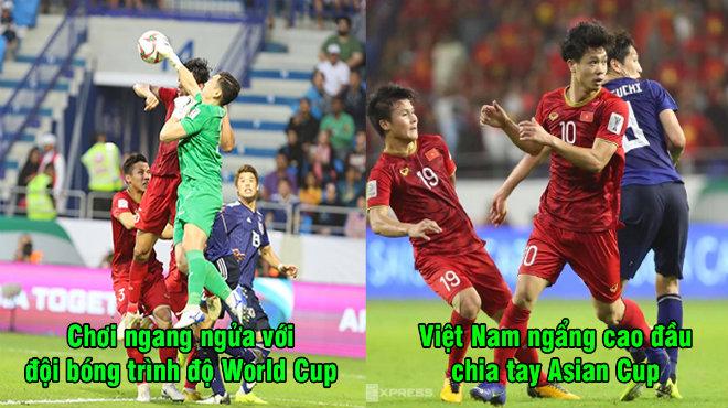 Chơi ngang ngửa với đội bóng đẳng cấp World Cup, Việt Nam ngẩng cao đầu nói lời chia tay Asian Cup 2019