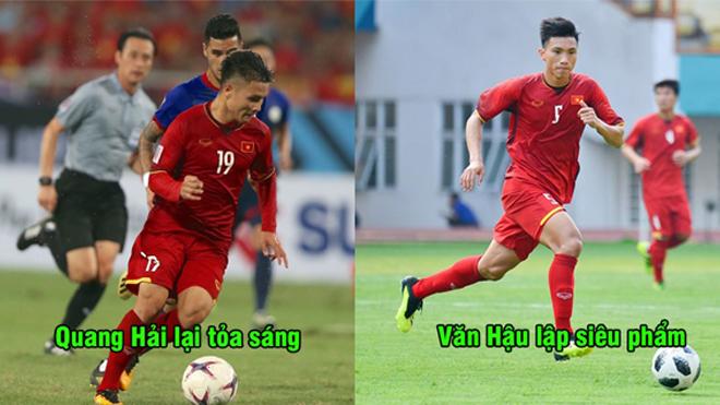 Thi đấu thăng hoa, ĐT Việt Nam đón năm mới bằng chiến thắng đậm trước ĐT Philippines