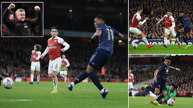Kết quả Arsenal vs MU: Đôi công hấp dẫn, choáng váng 2 phút 2 bàn
