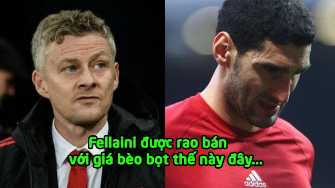 Chuyển nhượng M.U 16/01/2019: Solskjaer chốt xong giá bán Fellaini, học trò cưng của Mourinho sắp sửa phải ra đi