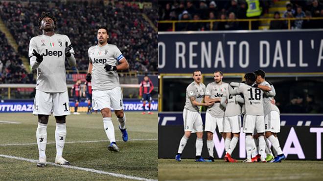 Không cần đến sự phục vụ của Ronaldo, Juventus vẫn dành chiến thắng đầy 'mãn nhãn' trước Bologna
