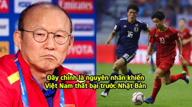 """Họp báo sau đại chiến: """"HLV Park Hang Seo hé lộ nguyên nhân chính khiến Việt Nam thua Nhật Bản"""""""