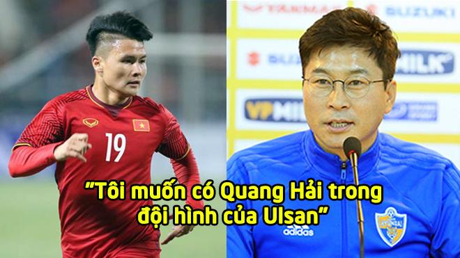 Thi đấu xuất sắc, HLV Hàn Quốc muốn đưa Quang Hải về CLB Ulsan thi đấu