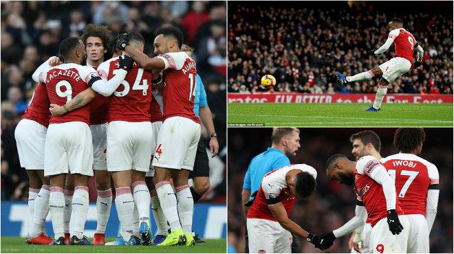 Song sá.t hủy di.ệt Fulham, Arsenal tiếp tục nuôi hi vọng lọt vào Top 4