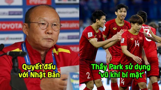 Tiết lộ đội hình ĐT Việt Nam sẽ 'quật ngã' tuyển Nhật Bản: Thầy Park tung 'vũ khí bí mật'