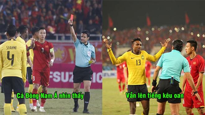 Kẻ đốn ngã Quang Hải ở chung kết AFF Cup chính thức lãnh án phạt cực nặng, LĐBĐ Malaysia vẫn lên tiếng kêu oan