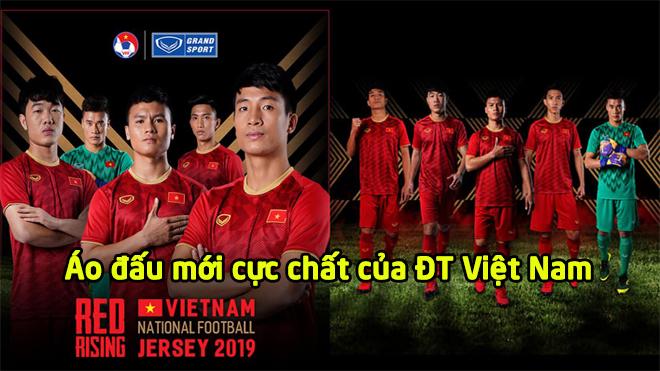 CHÍNH THỨC: ĐT Việt Nam ra mắt mẫu áo đấu cực chất dành riêng cho Asian Cup, quá đẹp cho một tuyệt tác