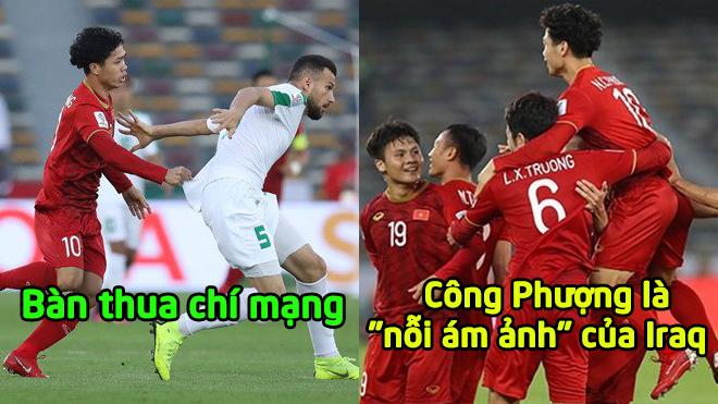"""5 điểm nhấn ĐT Việt Nam 2-3 ĐT Iraq: """"N.hát kiếm"""" chí mạng quá đa.u đớn"""