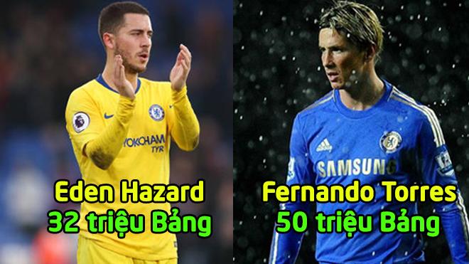 """Top 10 """"b.om tấn"""" chuyển nhượng hàng đầu lịch sử CLB Chelsea: Đỉnh như Torres cũng phải chào thua các đàn em"""